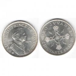 50 Francs Argent SAS Rainier III Monaco 1974