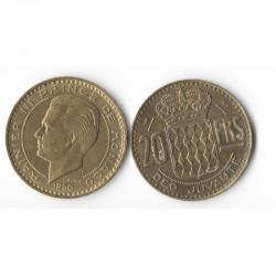 20 Francs 1950 Monaco Rainier III