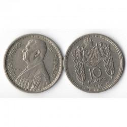 10 Francs 1946 Monaco Louis II