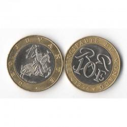 10 Francs 1996 Monaco Rainier III