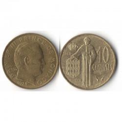 10 cents 1979 Monaco Rainier III
