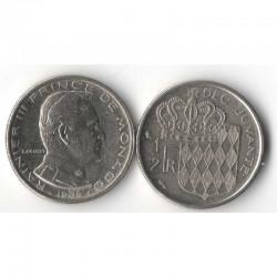1/2 Francs 1965 Monaco Rainier III