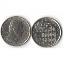 1 Francs 1960 Monaco Rainier III