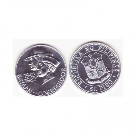 50 Piso Philipinnes Argent 1982 ( 001 )