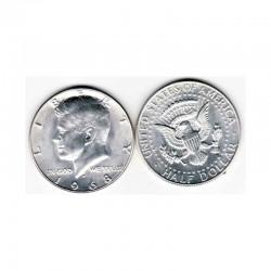 half Dollar Argent USA 1968