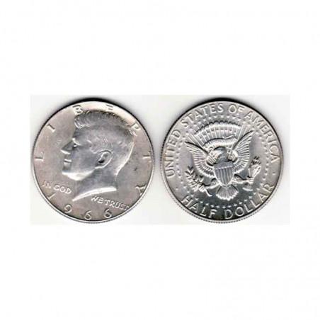 half Dollar Argent USA 1966