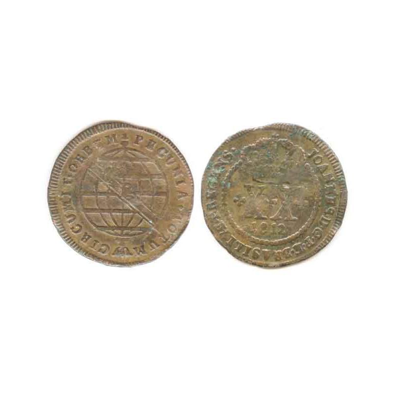 20 Reis Bronze 1812 Bresil ( 001 )