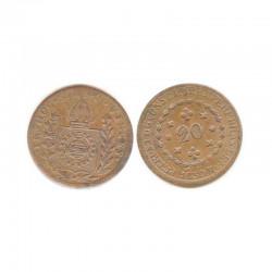 20 Reis Bronze 1830 R Bresil Pedro I ( 001 )