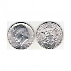 half Dollar Argent USA 1969