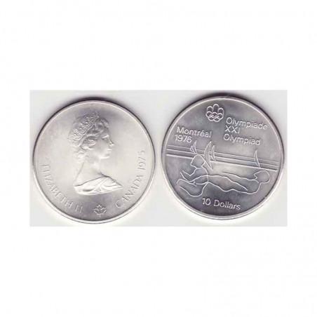 10 dollars Canada Argent 1975 ( 001 )