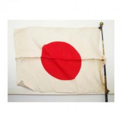Drapeau Japonais Hinomaru telecsopique WWII ( 3 )