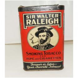 Boite a Tabac Sir Walter Raleigh ( 002 )