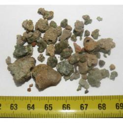 lot de trinitites tectite de bombe atomique ( 10.0 grs - 048 )