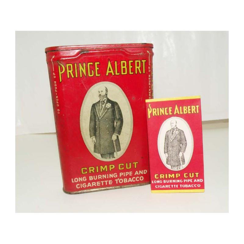 Boite a Tabac avec feuille Prince Albert ( 001 )