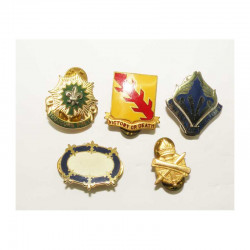 Lot de 5 insignes distinctives USA ( 007 )