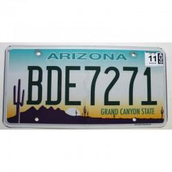 Plaque d Immatriculation USA - Arizona - 2011 ( 356 )