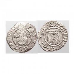 Denier Argent Crest 1587 Hongrie ( 1 )