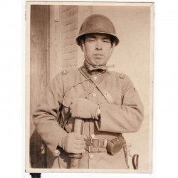WWII Photo de soldat Japonais - guerre de Chine ( 52 )
