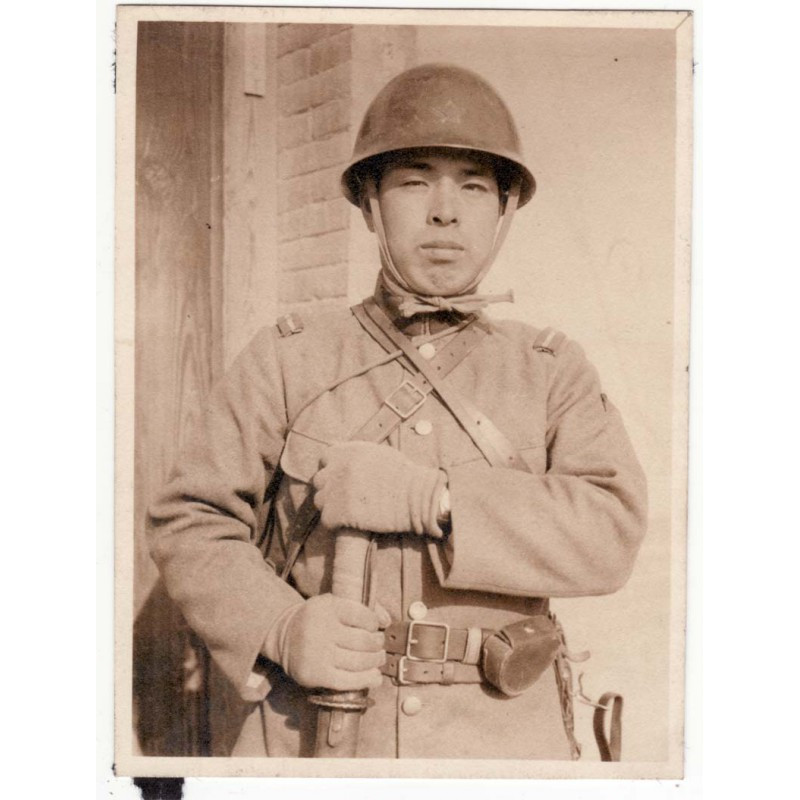 WWII Photo de soldat Japonais - guerre de Chine ( 52 )