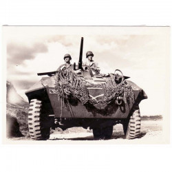 WWII Photo 40 ° Division Americaine aux Philippines  ( 021 )