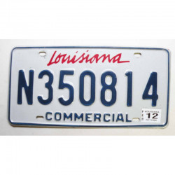 Plaque d Immatriculation USA - Louisiana - 2012 ( 677 )