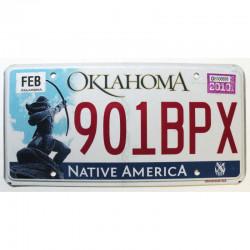 Plaque d Immatriculation USA - Oklahoma 2010 ( 742 )