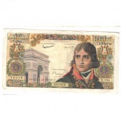 100 Francs Bonaparte 06/02/1964 TTB ( 337 )