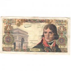 100 Francs Bonaparte 01/03/1962 TTB ( 351 )