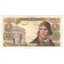 100 Francs Bonaparte 04/10/1962 TTB ( 362 )