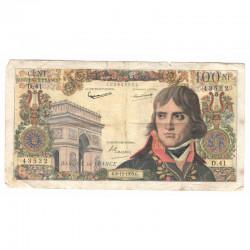 100 Francs Bonaparte 03/12/1959 TB ( 364 )