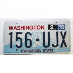 Plaque d'Immatriculation USA -Washington 2008 ( 527 )