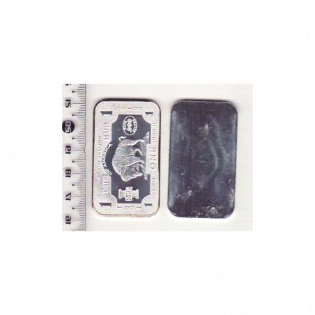Lingot d argent Bison 31 grammes - USA