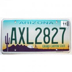 Plaque d Immatriculation USA - Arizona - 2011 ( 353 )