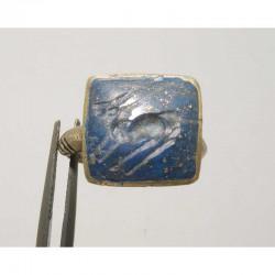 Bague ancienne du Pakistan ciselée taille 54 ( 82 )