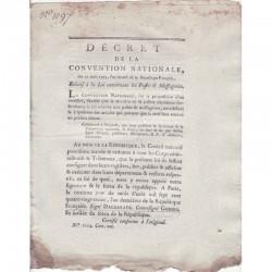 Decret Revolutionaire 1793 ( 121 )
