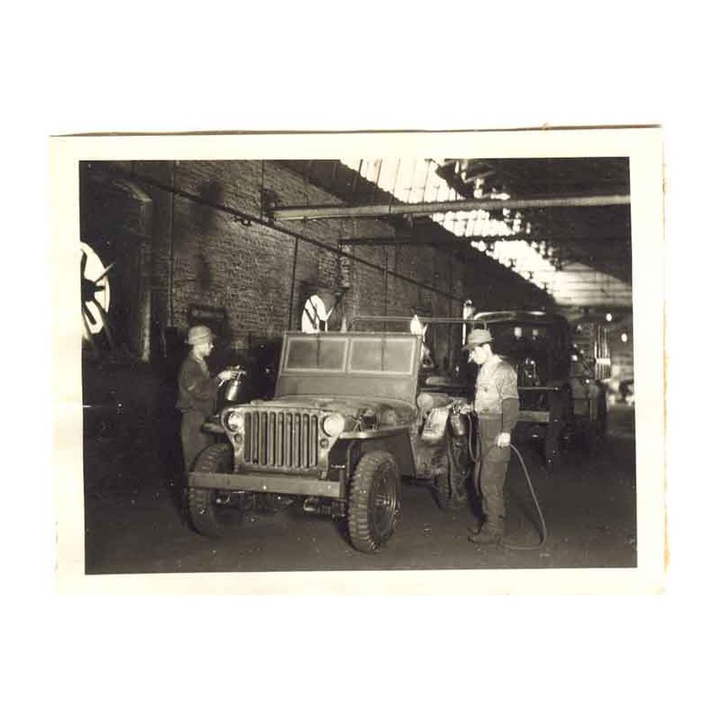 WWII Photo de Fabrication de Jeep - Kobe Japon ( 8 )