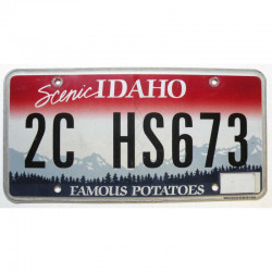 Plaque d Immatriculation USA - Idaho ( 1339 )