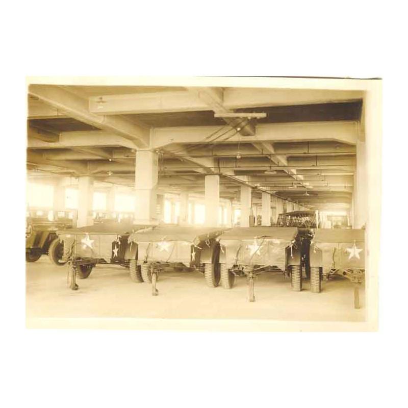 WWII Photo de Fabrication de Jeep - Kobe Japon ( 18 )