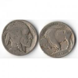 5 cents Nickel - USA Buffalo Indian Head 1927