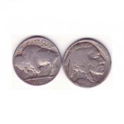 5 cents Nickel - USA Buffalo Indian Head 1929