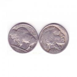 5 cents Nickel - USA Buffalo Indian Head 1928