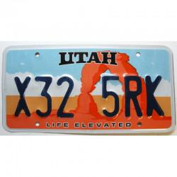 Plaque d Immatriculation USA - Utah ( 1192 )