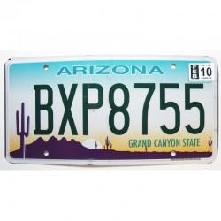 Plaque d Immatriculation USA - Arizona - 2010 ( 1147 )