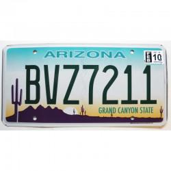 Plaque d Immatriculation USA - Arizona - 2010 ( 187 )