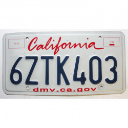 Plaque d Immatriculation USA - California ( 396 )