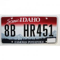 Plaque d Immatriculation USA - Idaho ( 302 )