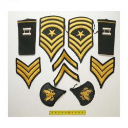 lot de 10 Patchs originaux US Army pour Hommes ( 81 )