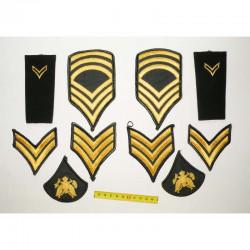 lot de 10 Patchs originaux US Army pour Hommes ( 84 )