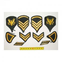lot de 10 Patchs originaux US Army pour Femmes ( 87 )