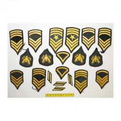 lot de 20 Patchs originaux US Army pour Femmes ( 85 )